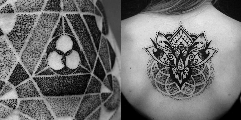 tatuaggio dotwork